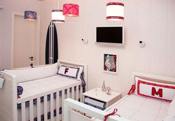 Quarto compartilhado para menino e menina - Bebê.com.br