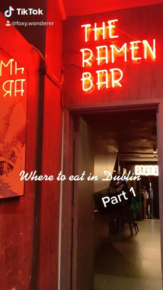 Where To Eat In Dublin Part 1 Tiktok Video Visit Dublin Yummy Food