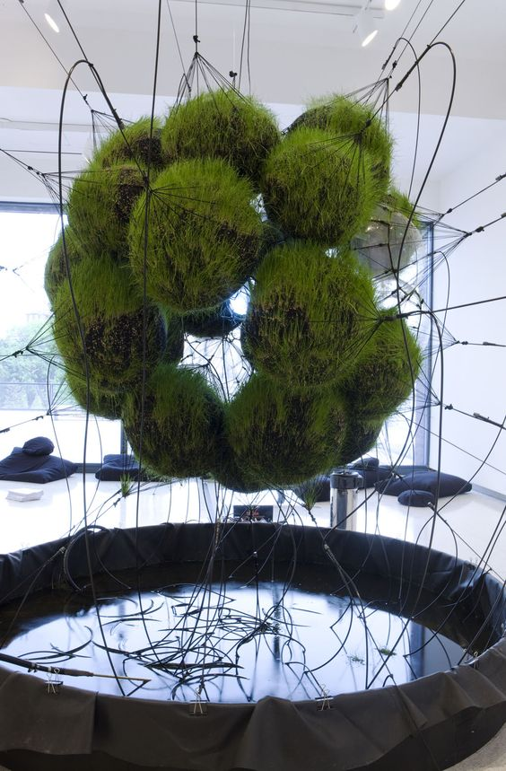 """""""32SW Stay Green/Flying Garden/Air-Port-City__,"""" by Tomás Saraceno. Earth Day"""