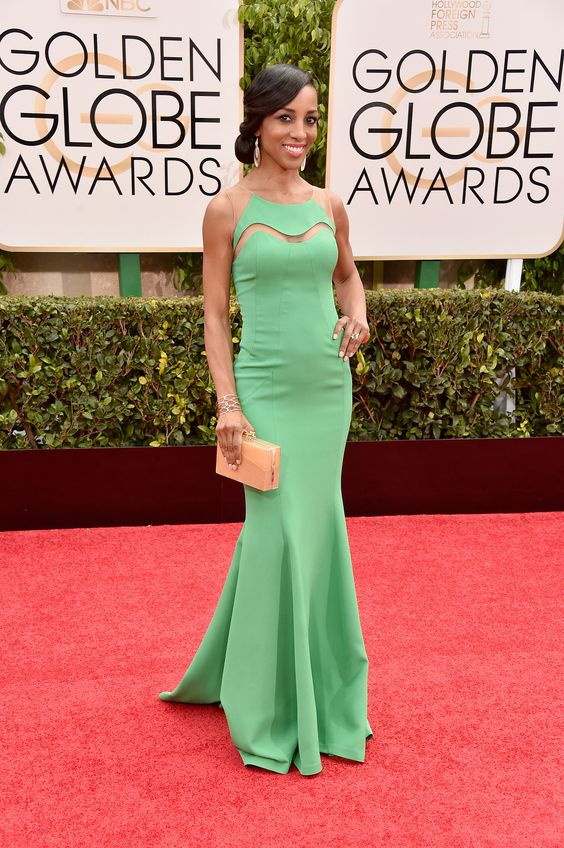 2015 Golden Globes Glamour! See the Best Dresses on the Red Carpet: Shaun Robinson