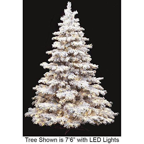 Silksareforever 76 Hx64 W Heavy Flocked And Glittered Pine Ledlighted Artificial Christmas Tree W Stand White Gre With Images Artificial Christmas Tree Christmas Tree Tree