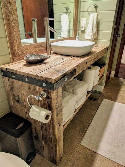 Badezimmermobel Badezimmer Ba Ba Badezimmer Badezimmermobel Beste Gunstige Ideen Rustic Vanity Rustic Bathroom Vanities Bathroom Vanity