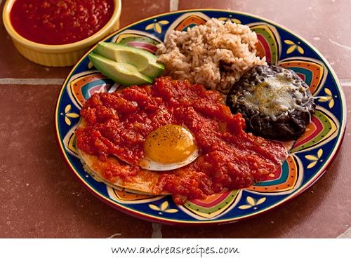 Huevos Rancheros (The Kids Cook Monday)