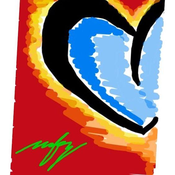 A piece of art. cold heart