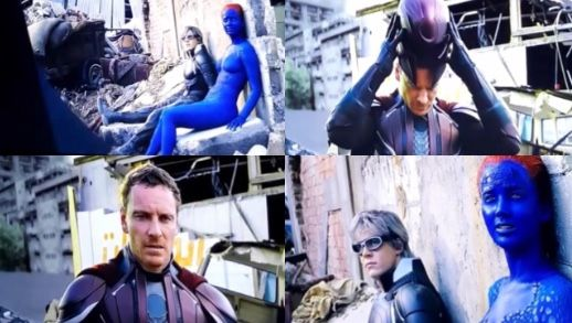 X Men Apocalypse Deleted Scene With Quicksilver Magneto Mystique X Men Apocalypse Mystique X Men