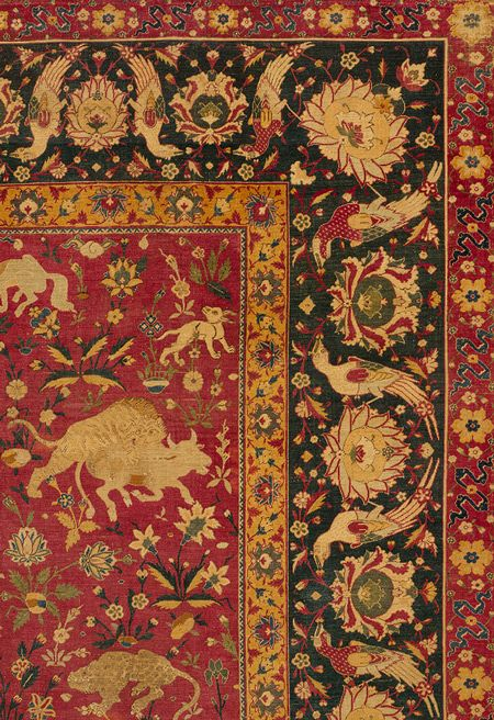 Kashan Carpet Second Half Of 16th Century Safavid