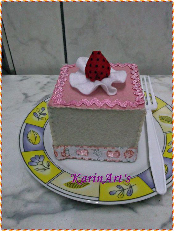 Quem quer um pedaço de bolo?