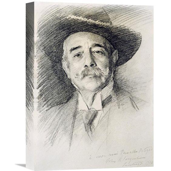 Global Gallery Portrait of Ramacho Ortigao Wall Art - GCS-268514-16-142