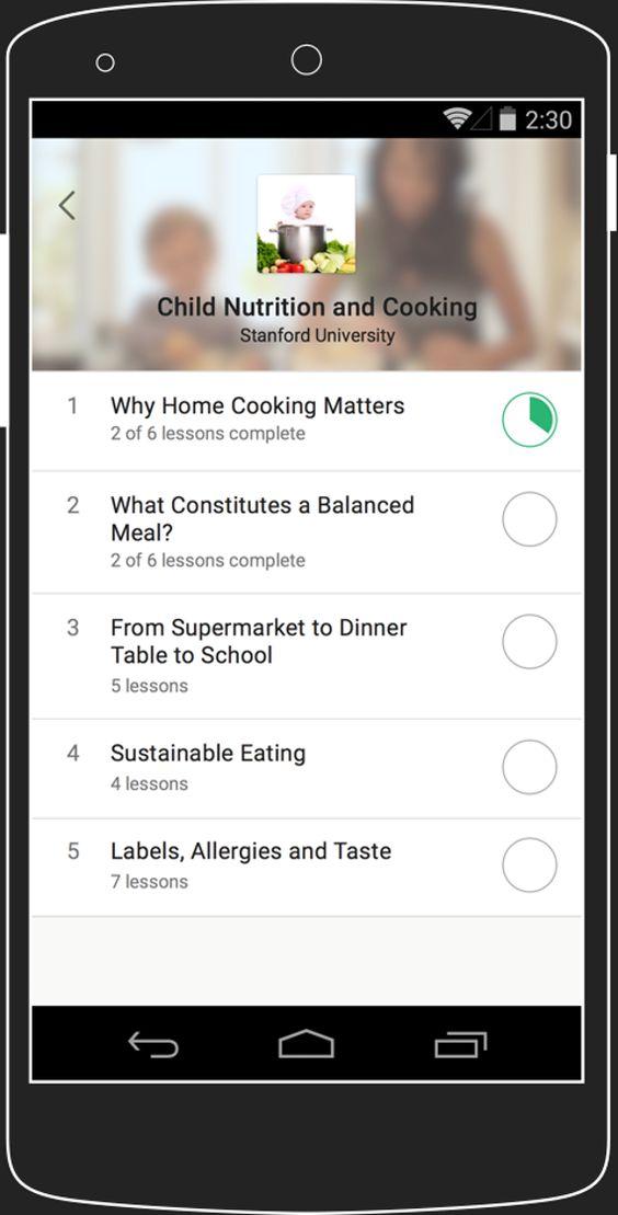 Image demonstrating Coursera app