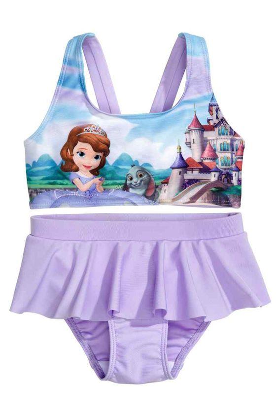 Costumi mare Disney 2015 bambini per un'estate super divertente HM bikini 12.99 euro