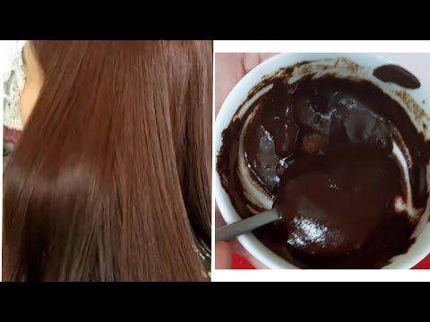 صباغة طبيعية باللون البني اللامع بدون حناء تغطي الشيب من أول استعمال ومقوية للشعر Youtube Hair Remedies For Growth Hair Remedies Hair Care