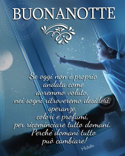 Esatto Dolce Notte E Sogni D Oro A Tutti A Domani Auguri