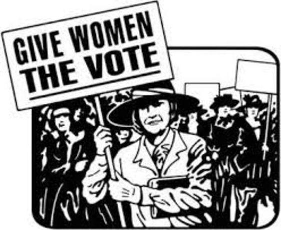 Resultado de imagen de WOMEN RIGHT VOTE