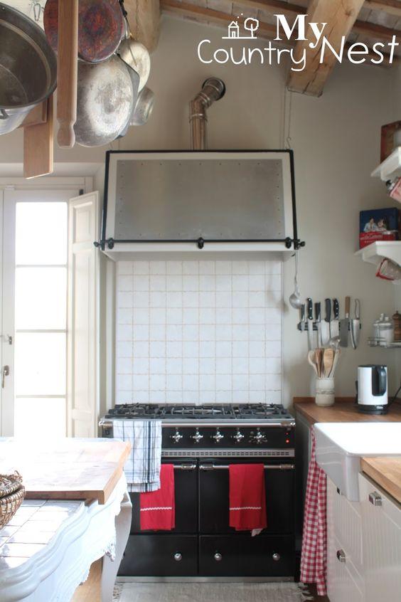 DIY kitchen hood: la nostra nuova cappa a costo minimo - Stupenda cucina di My Country Nest - Chiara