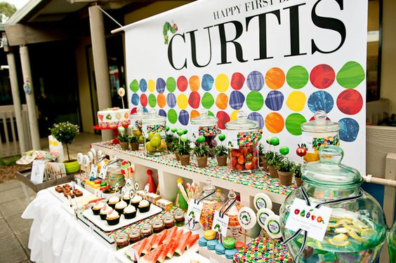 The Very Hungry Caterpillar Birthday Party Ideas | Photo 22 of 48 | Catch My Party