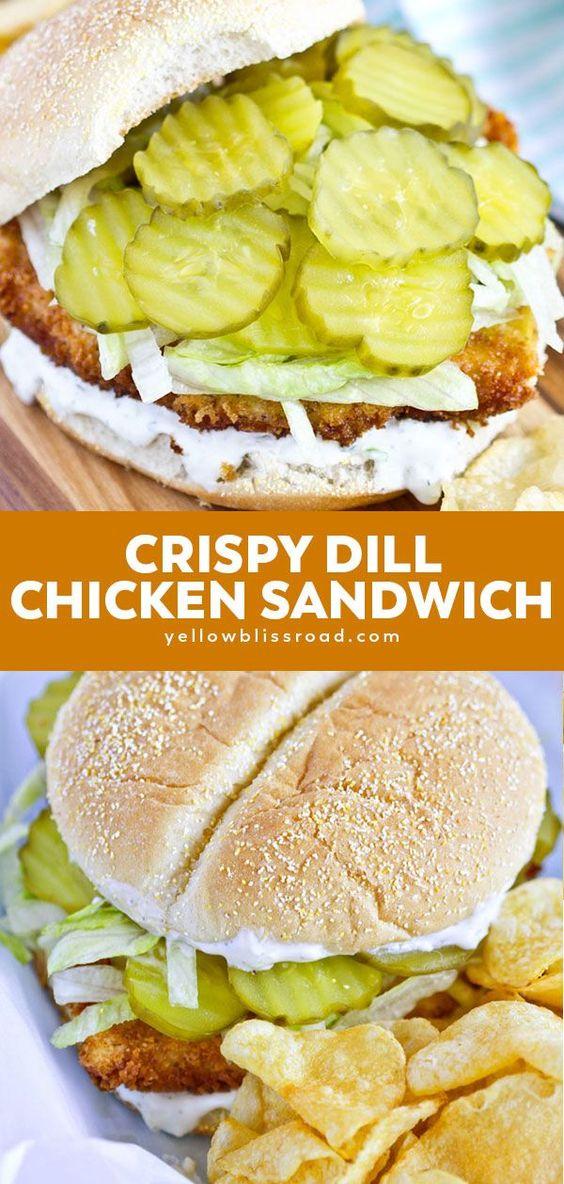 Crispy Dill Chicken Sandwich