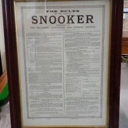 snooker rules video