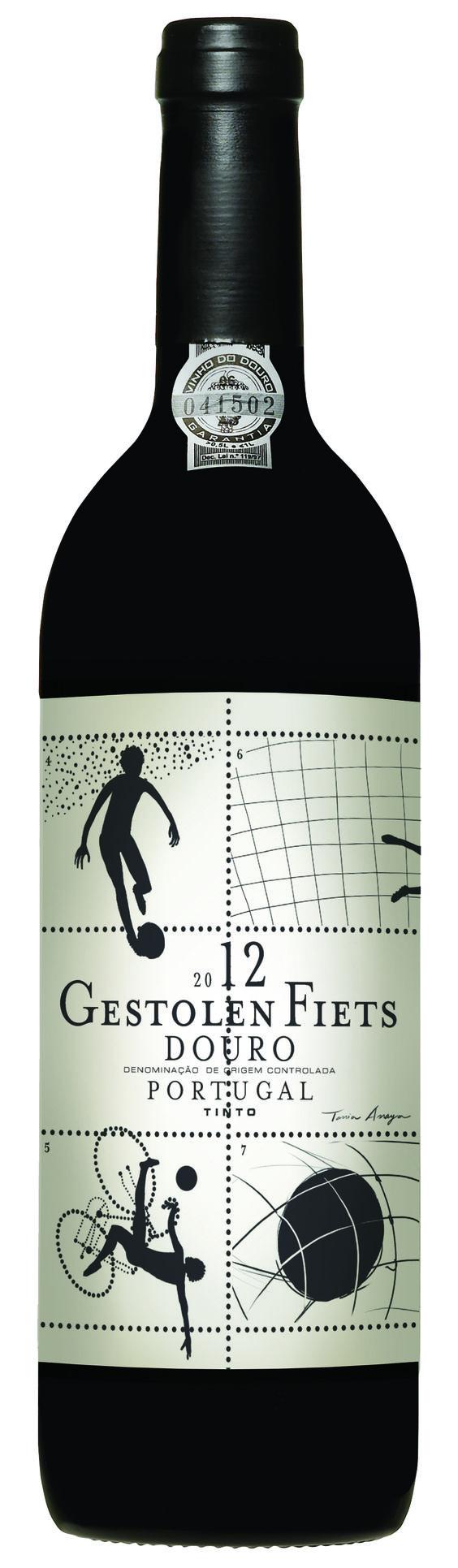 rótulo de vinho Niepoort - Futebol