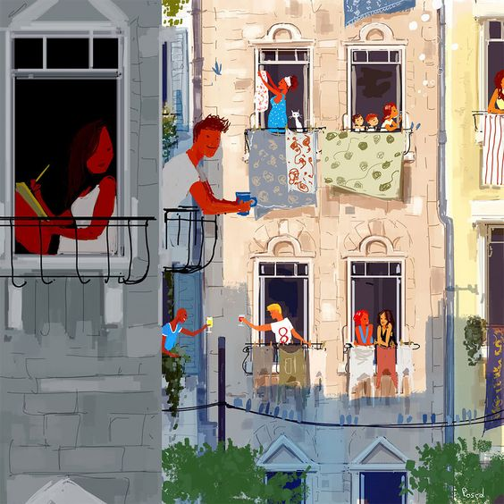 """If Life Was Made On Canvas"": Heartwarming Illustrations By Pascal Campion"