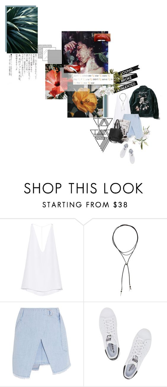 """""""ME AND MY WOADIES 'BOUT TO STROLL UP"""" by zoldyck ❤ liked on Polyvore featuring Cushnie Et Ochs, Vanessa Mooney, Steve J & Yoni P, adidas Originals, 7 For All Mankind and Givenchy"""