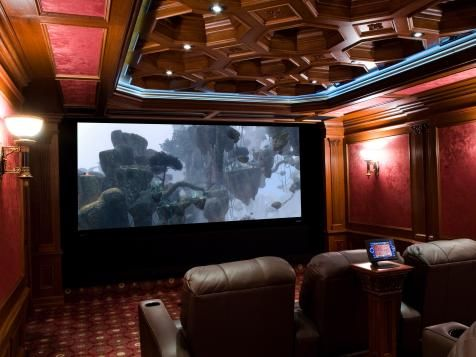 Attrayant Basement Home Theaters And Media Rooms: Pictures, Tips U0026 Ideas