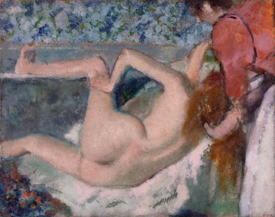 Edgar Degas, After the Bath, about 1895, The J. Paul Getty Museum, Los Angeles