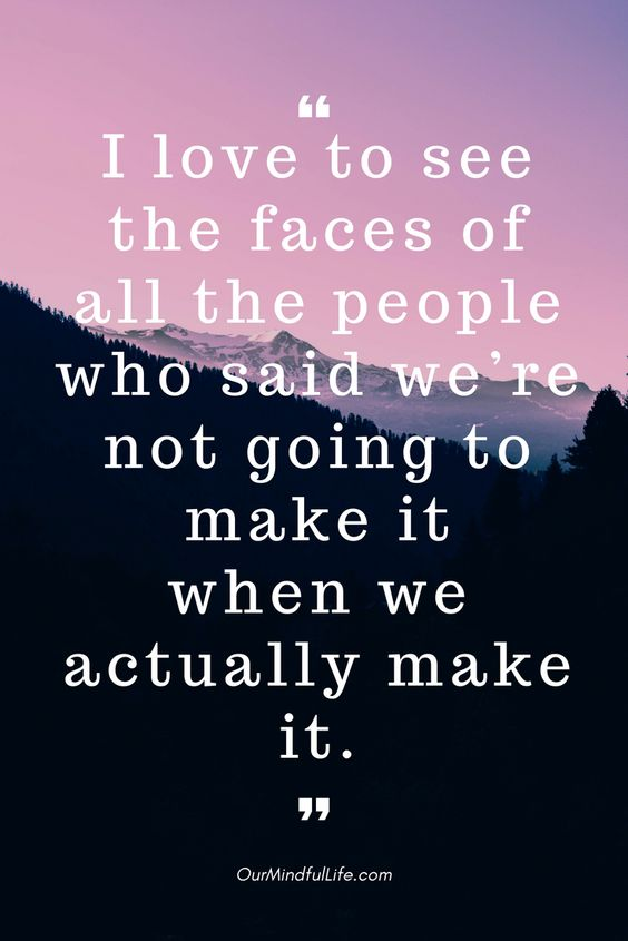 I love to see the faces of all the people who said we're not going to make it  when we actually make it- 26 beautiful long distance relationship quotes - OurMindfulLife.com