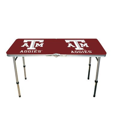 Take a look at this Texas A Tailgate Table by MRL Sports: