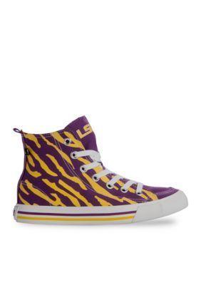 SKICKS   Louisiana State University Mens Tiger High Top Shoes