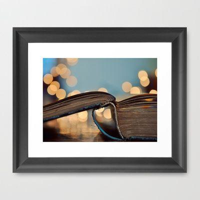 Happy Monday Framed Art Print by Elle Moss - $35.00