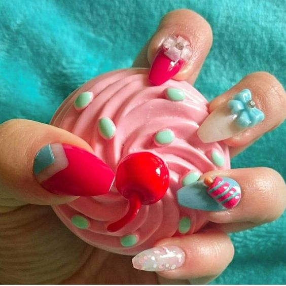 cute 3d nail art charms available at www.charliesnailart.co.uk  naildesign #nailart #nails #cutenails #nailshop #nailedit #nailcharms #3dnailart #nailenvy #nailswag #nailcandy