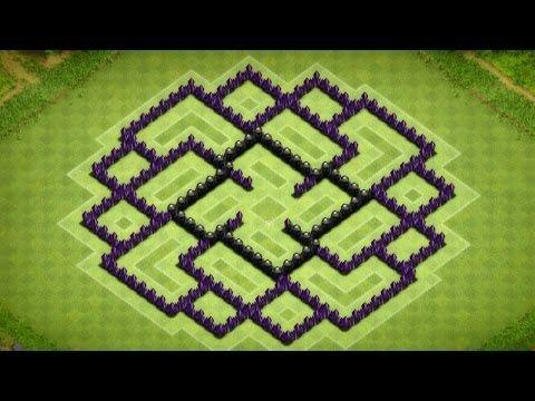 clash of clans base build