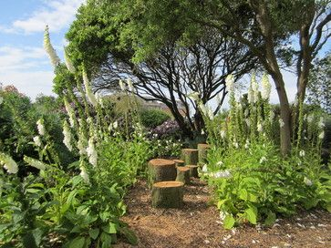 Bee and Butterfly garden - rustic - landscape - Other Metro - Helen Rose Wilson Garden Design