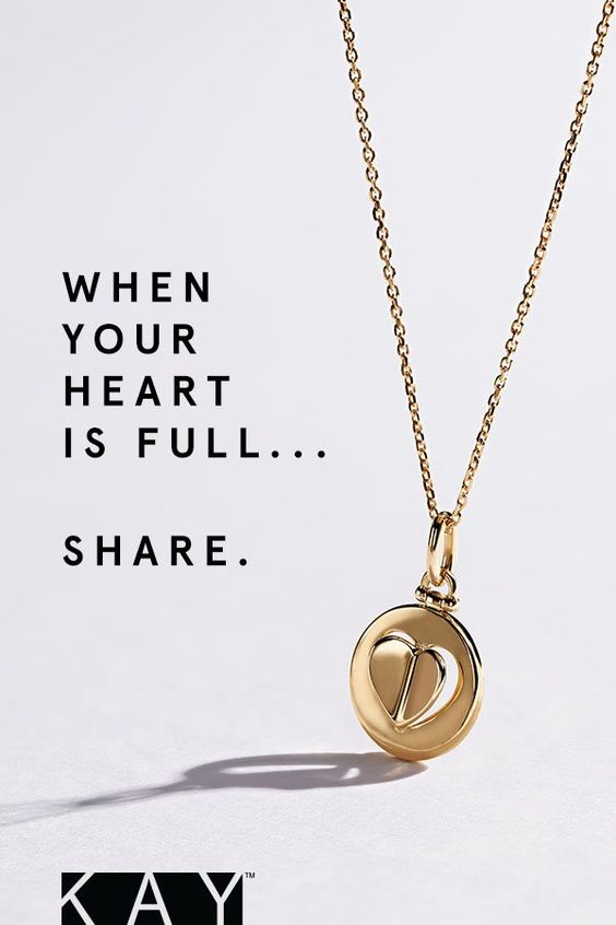 Your Love Your Heart Your Signature Give This Beautiful Yellow Gold Necklace From The Kay Signature Heart Collection T Jewelry Cute Jewelry Jewelry Gift Box