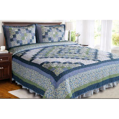 August Grove Sentinel Butte Single Reversible Quilt Size King Quilt Bedding Sets Decor Home Decor