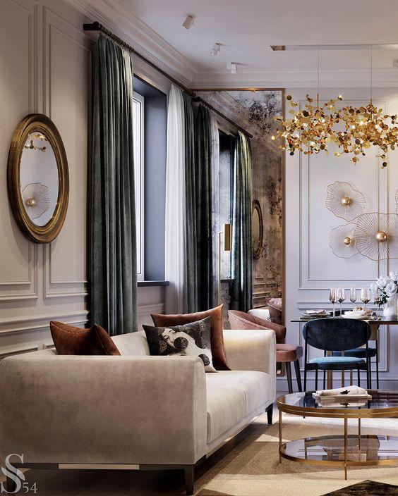 tendance décoration intérieur- tendance 2019 - pièce de vie