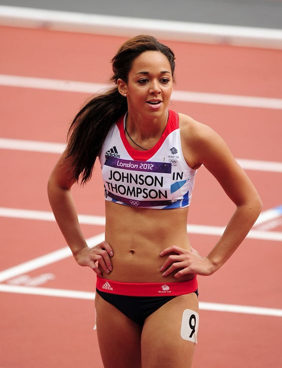 Katarina Johnson-Thompson. Heptathlon