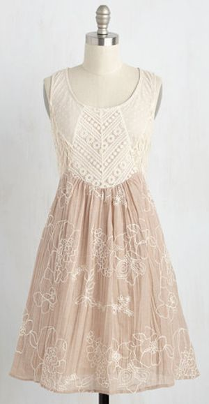 pretty beige lace couture dress