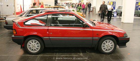 1984 Honda Civic CRX.