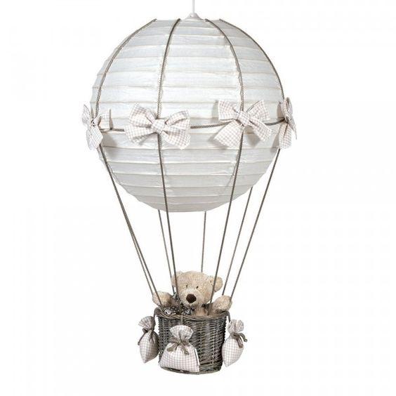 lampe als hei luftballon basteln kinderzimmer pinterest basteln. Black Bedroom Furniture Sets. Home Design Ideas
