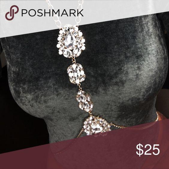 Mimi Bodychain Soooooo necessary just in from Nadege Nasty Gal Jewelry
