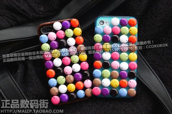 3D Chocolate iPhone4/4s Cases