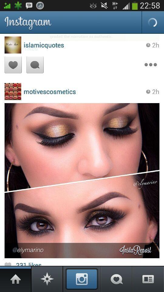 Eye make up on a pakistani actress #EyeMakeUp