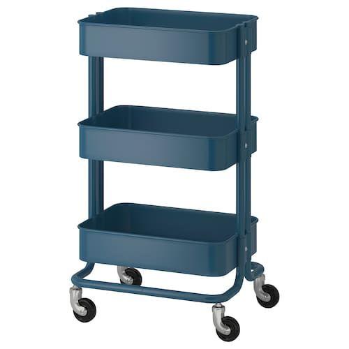 Raskog Utility Cart White 13 3 4x17 3 4x30 3 4 Raskog Utility Cart Ikea Raskog Ikea Storage