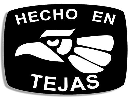 Amazon Com American Vinyl Hecho En Tejas Sticker Made In Texas