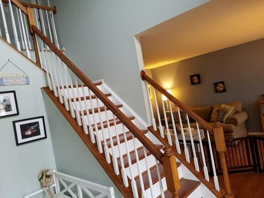 Stairtek 625 In X 11 5 In X 42 In Prefinished Gunstock Red   Red Oak Stair Treads Home Depot   Wood Stair Nose   White Oak   Unfinished Pine   Engineered Wood   Stairtek