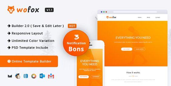 Wofox Responsive Email Template Online Builder Wofox Has