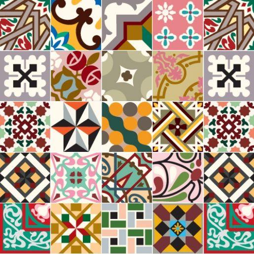 Ladrilho on pinterest - Azulejos para mosaicos ...