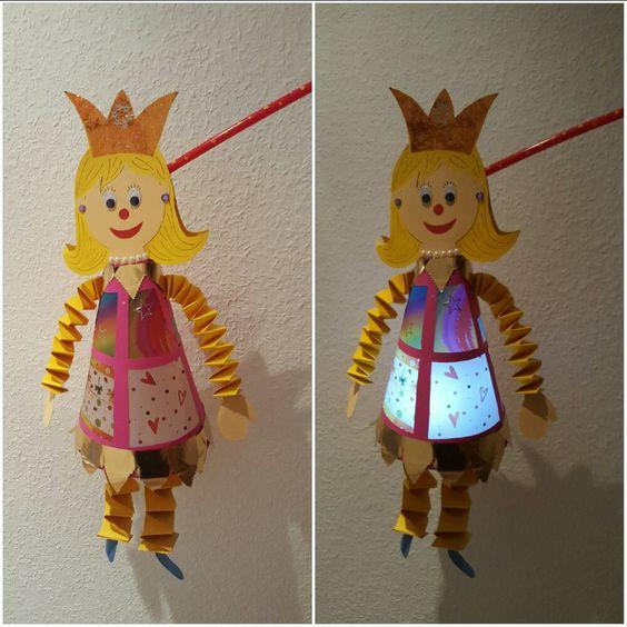 DIY: ... es musste eine Prinzessinnen-Laterne sein...