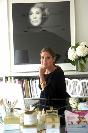 Aerin Lauder at Estee Lauder - Inspirational space